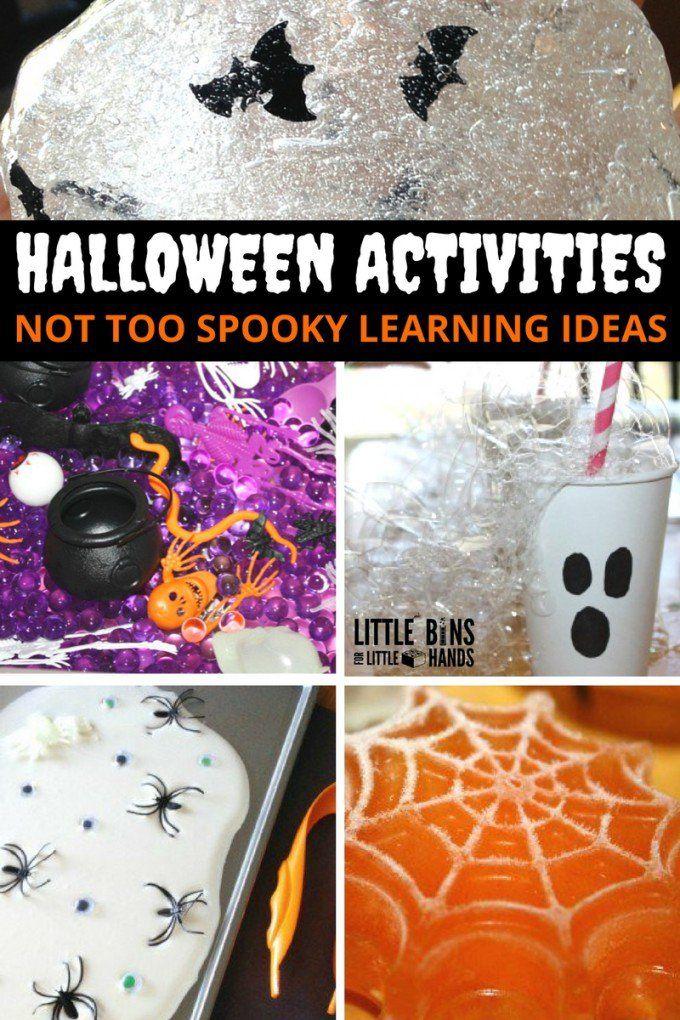 halloween activities for kids halloween learning ideas - Halloween Preschool Ideas