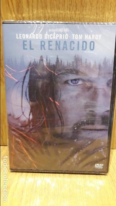 EL RENACIDO. LEONARDO DI CAPRIO / TOM HARDY. DVD / FOX - 2015 / PRECINTADO.
