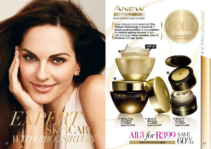Anew Ultimate 7S 45+ l 3 for R399.00.  BUY or SELL Avon contact: melisa.davids@gmail.com Southern Suburbs Cape Town Only