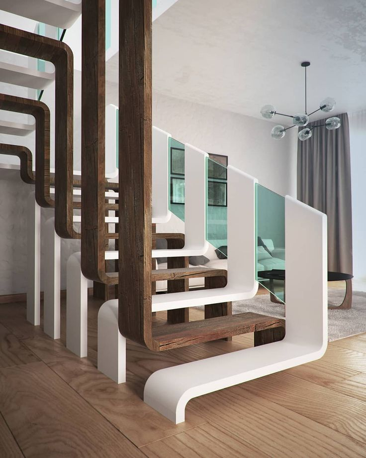 Fashionable Staircase by Andrii Ortynskyi  #structure #architectural #structure…