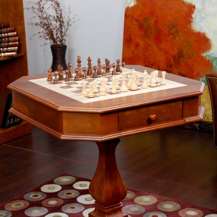 Signature Oak Multi-Game Table