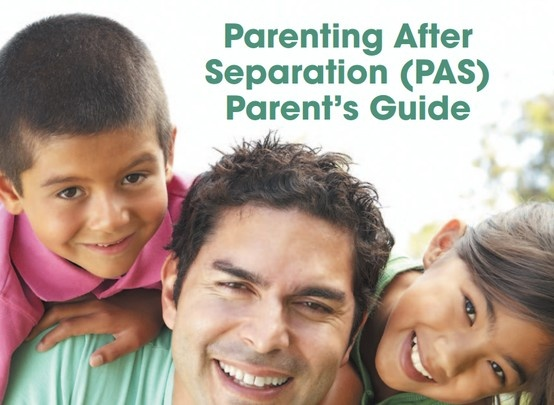 Parenting After Separation (PAS)  Parenting After Separation is a six hour seminar offering information to parents about the separation and divorce process, the effects of separation and divorce on children, techniques for communication and legal information that affects parents and children.  Separating or divorcing parents who live near a judicial centre and have issues concerning child support or parenting time may access this service.