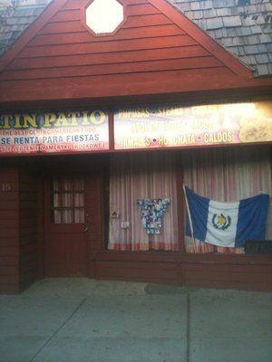 Latin Patio Restaurant - known for their killer pupusas :)
