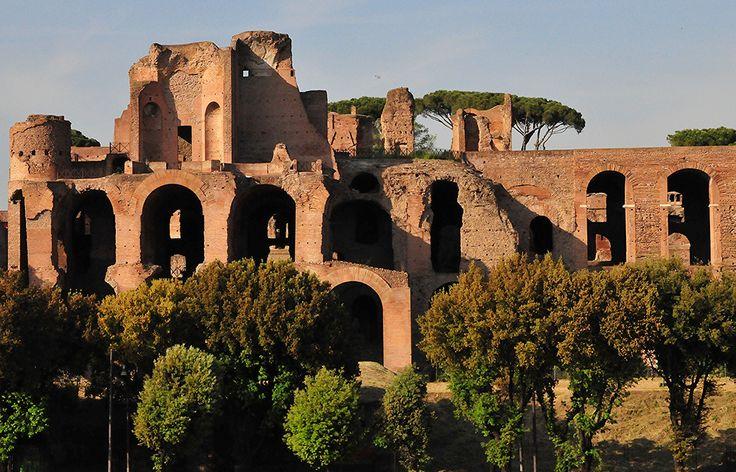 Rome Italy - Augustus Forum on Palatine Hill