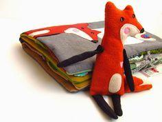 The Quiet Book Blog: Agata's Fox Quiet Book