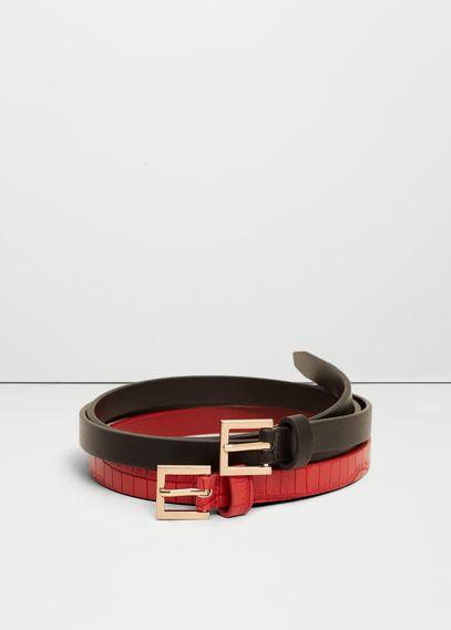 Cinturones de Mujer | MNG Colombia