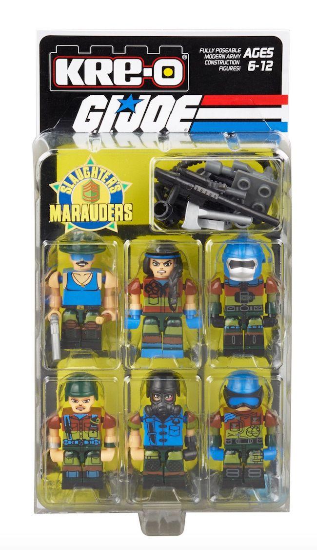 #SDCC2015 Exclusive #Hasbro #GIJoe #KreO #SgtSlaughter's Marauders Box Set http://www.toyhypeusa.com/2015/06/24/sdcc-2015-exclusive-hasbro-g-i-joe-kre-o-sgt-slaughters-marauders-box-set/ #SDCC15 #SDCC #ARAH