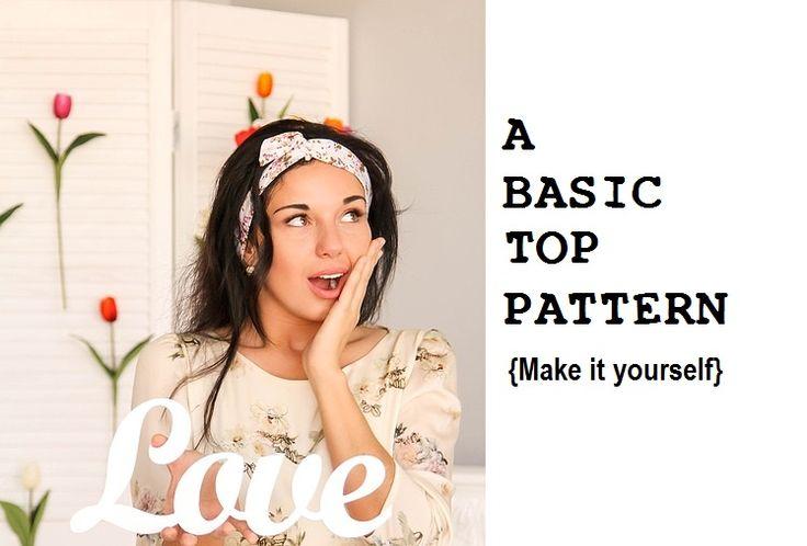 A basic {BODICE} pattern - Sew Guide