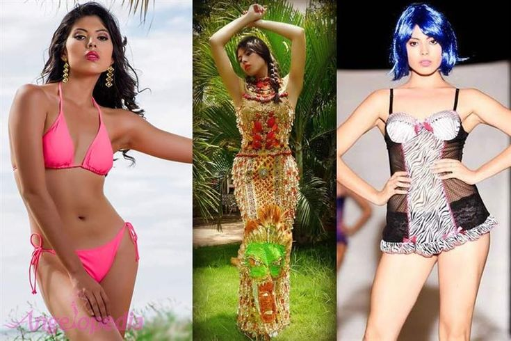 Marian Borge Amador Contestant Miss Mundo Nicaragua 2016