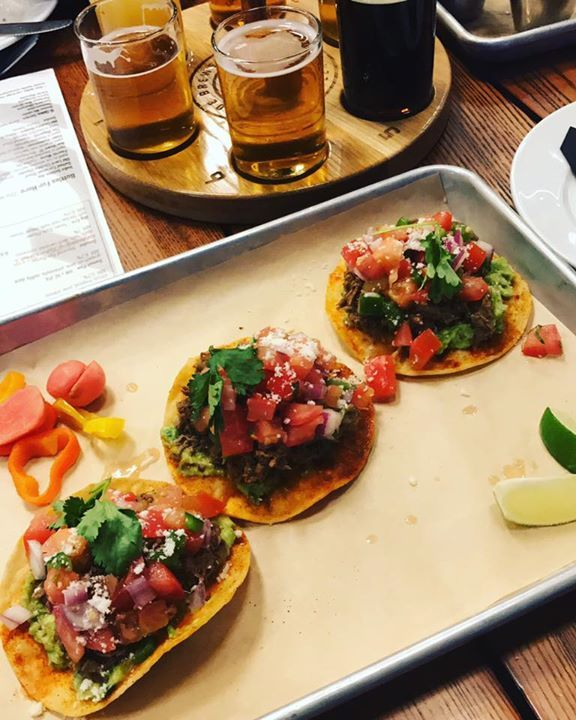 I may not be able to enjoy the beer, but you can be damn sure I've been enjoying my tacos and all the other foods. #SilverLiningsAreDelicious #pickyeaters #keepingithealthy