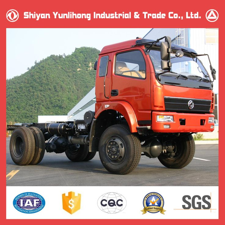 Dongfeng Off Road 4x4 Monster Truck Chassis For Sale/Truck Chassis Sale/Dump Truck Chassis