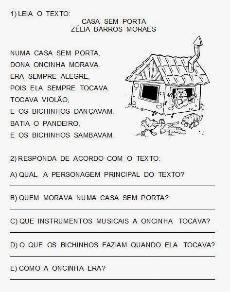 Atividades de alfabetização                         Estas atividades podem ser passadas na lousa. (Dependendo o nível da  sala para 1º e 2º...
