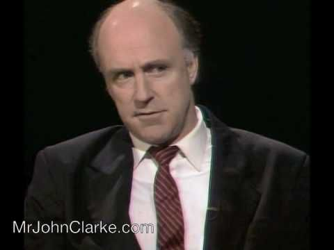 "http://www.mrjohnclarke.com ""Bob Collins, Australian Senator"" Air date: 26/07/1991 Can be purchased on ""Clarke & Dawe -The Full Catastrophe DVD Boxed Set"" Pe..."