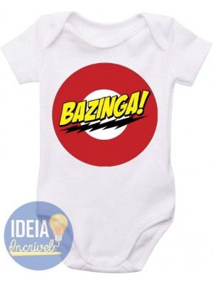 Body Infantil - Bazinga