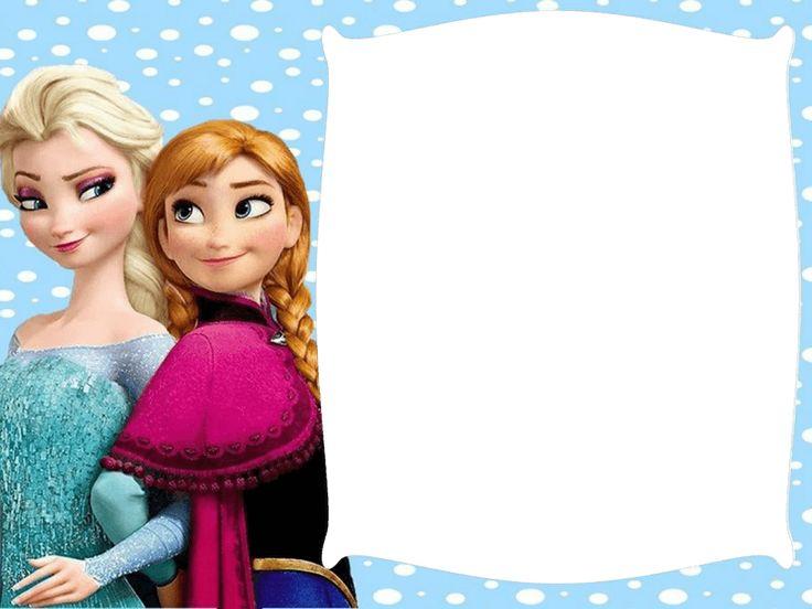 Marco de foto Frozen y las Princesas