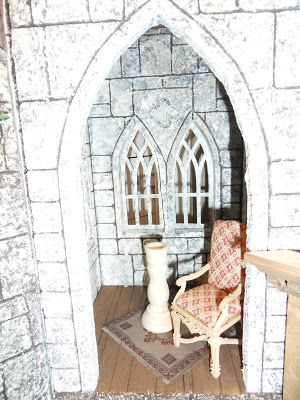 So Mini Projects: More pondering on the castle finish