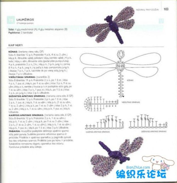 Crochet Animal Patch - Chart  ❥ 4U hilariafina  http://www.pinterest.com/hilariafina/