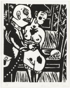 De dood en het meisje, 1965, Aad de Haas