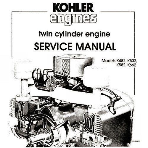 details about kohler k482 k532 k582 k662 twin cylinder