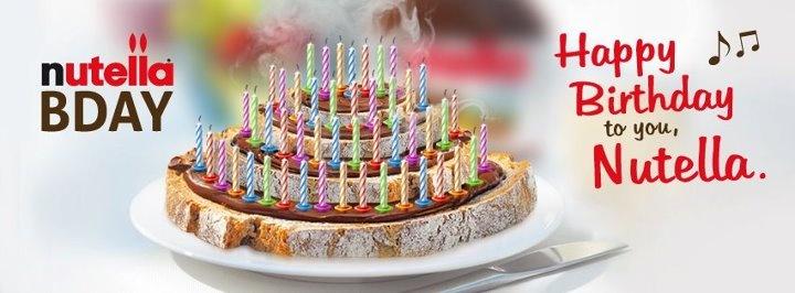 Happy Birthday #Nutella