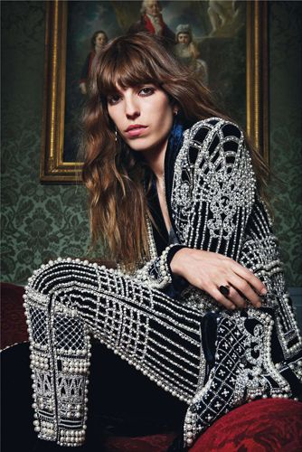 lou doillon @ Art Partner
