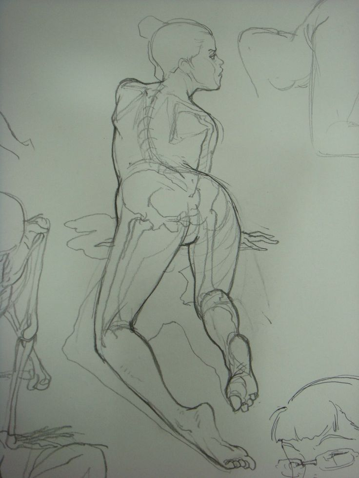 Intro to figure drawing & anatomy - Kim Jung Gi