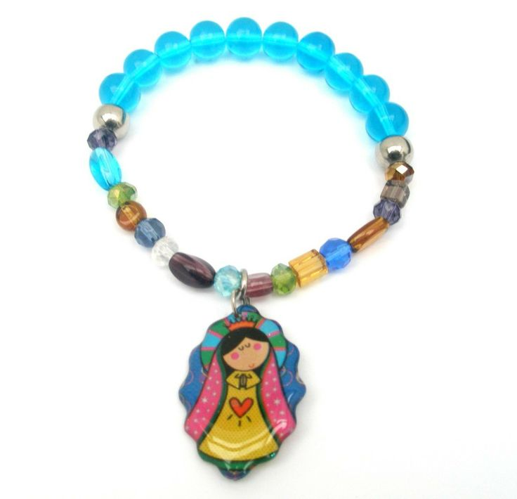 manilla virgen de Guadalupe
