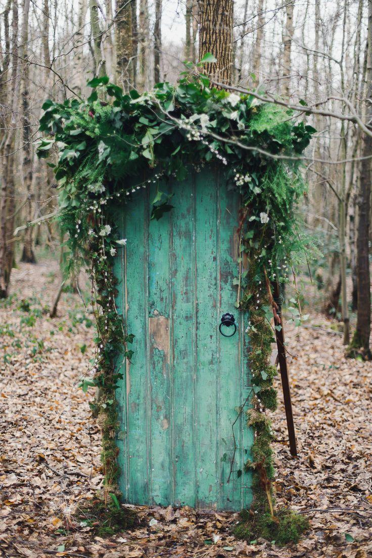 Nordic Woodland Elopement Wedding Ideas