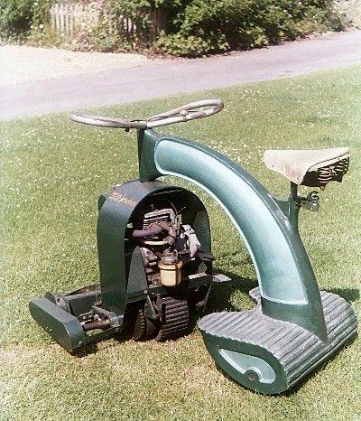 riding lawn mower | #Vintage #Tech