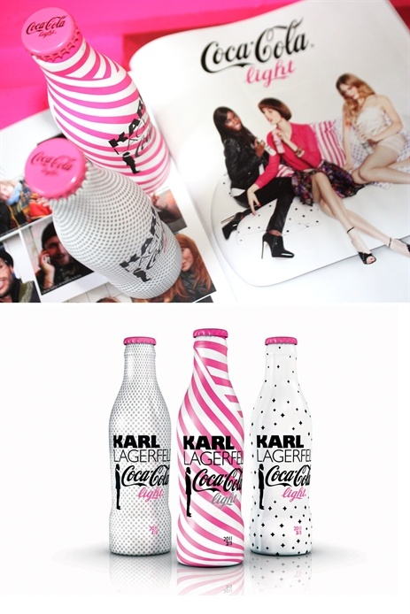 Karl Lagerfeld Coca Cola light 2011