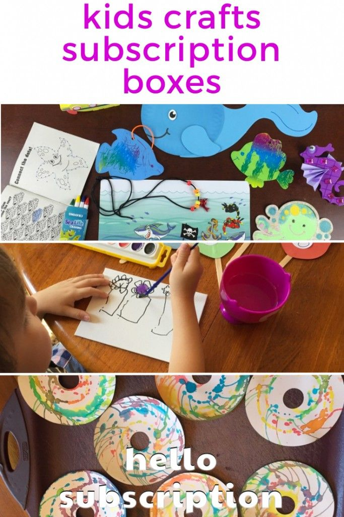 140 best images about on pinterest early childhood for Kid craft subscription box