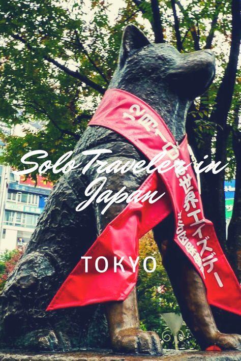 Shibuya Station Front Hachiko Statue: Solo Traveler in Japan