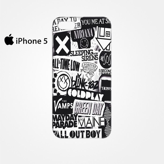 The XX Coldplay Arctic Monkey for Iphone 4/4S Iphone 5/5S/5C Iphone 6/6S/6S Plus/6 Plus 3D Phone case