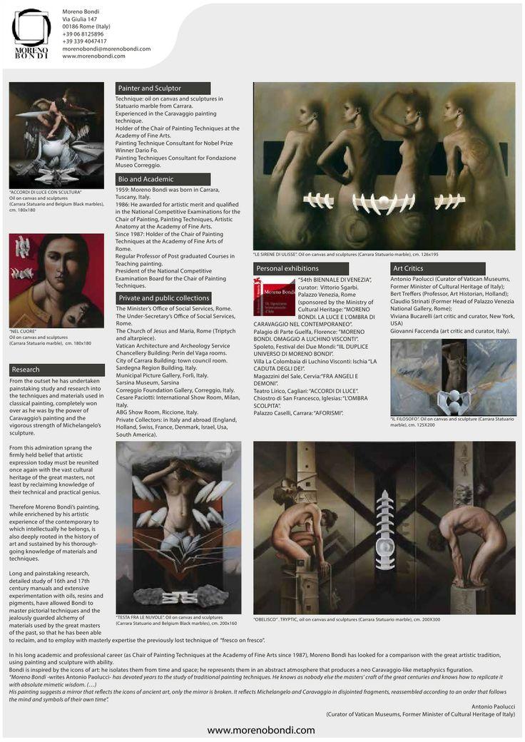 Look at the new Moreno Bondi's brochure