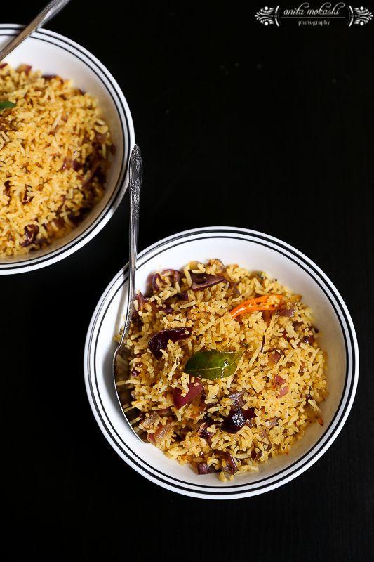 Phodnicha Bhat Recipe/How to make seasoned rice Recipe