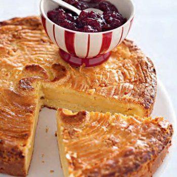 Gâteau basque facile