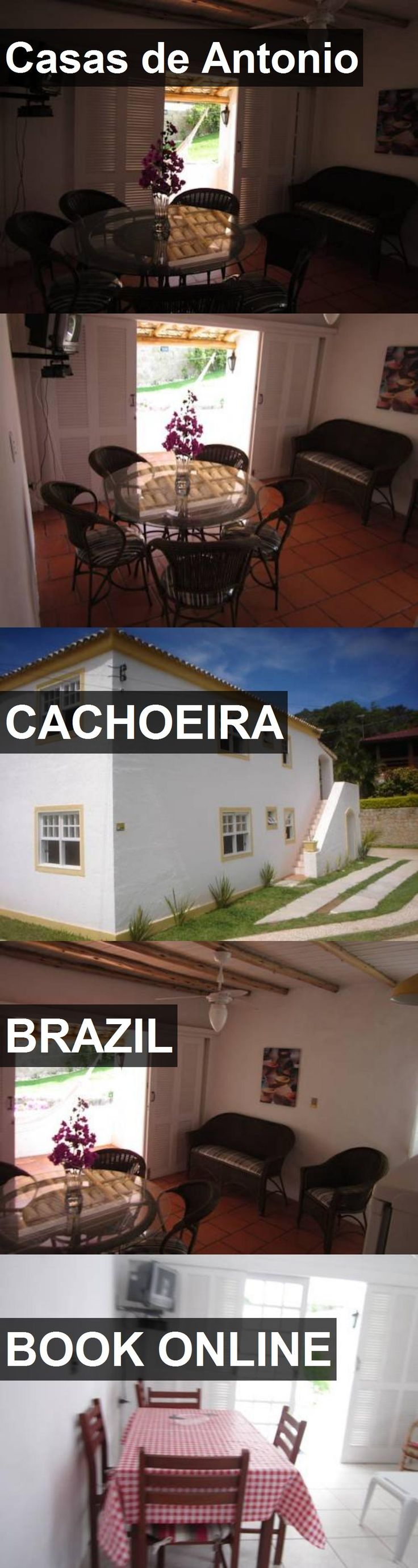 Hotel Casas de Antonio in Cachoeira, Brazil. For more information, photos, reviews and best prices please follow the link. #Brazil #Cachoeira #travel #vacation #hotel