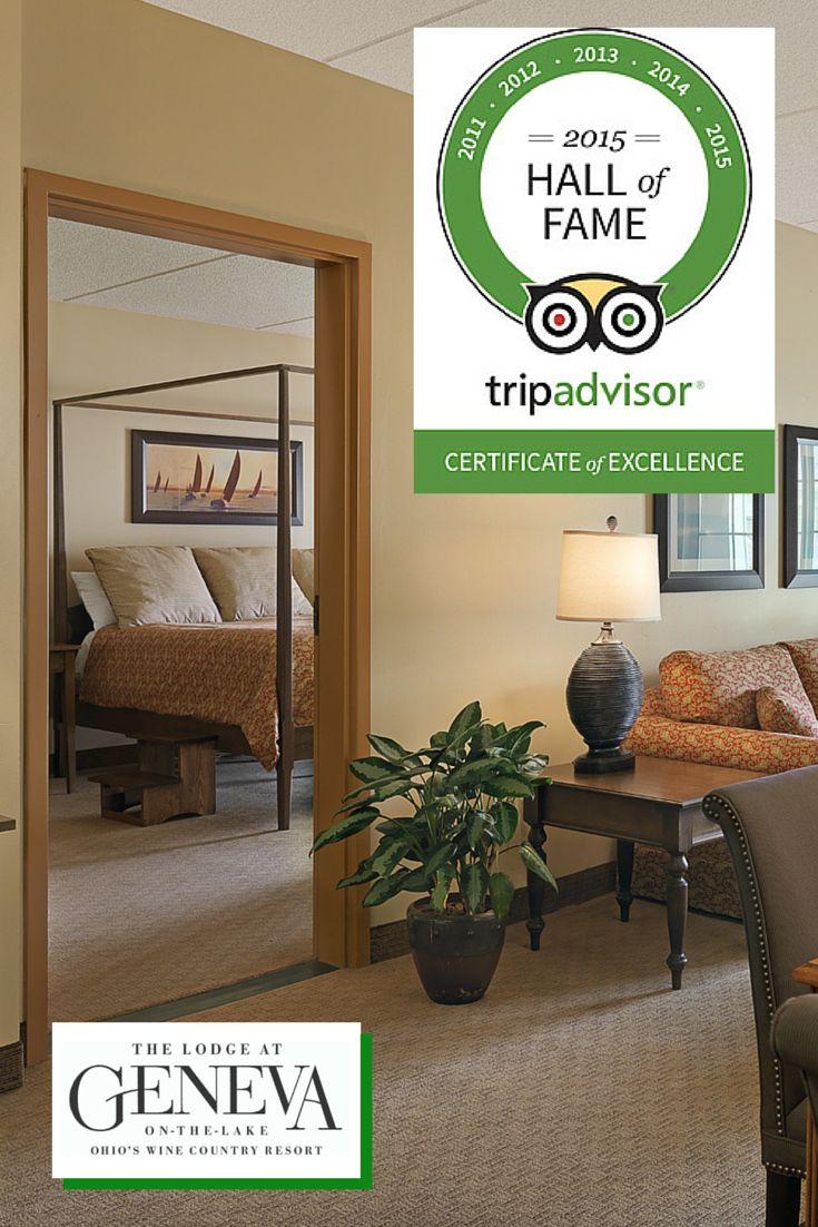 The Lodge At Geneva On The Lake Has Been Awarded The @tripadvisorus