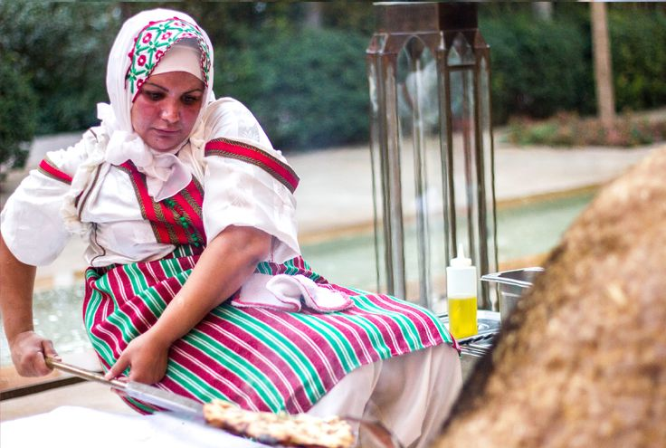 Morocco's culinary journey is demonstrated with traditional bread making #RoyalMansour #Bread #Tradition #Morocco #Marrakech #BreadMaking #Artisan