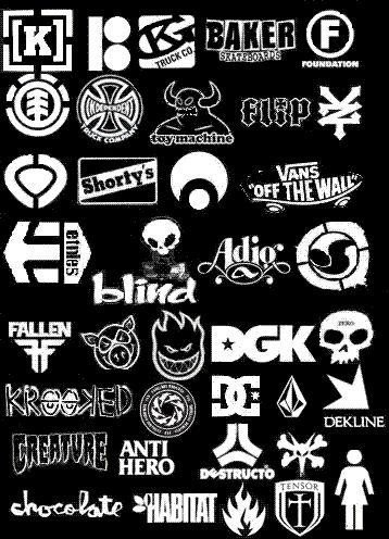 Popular Skate Logos