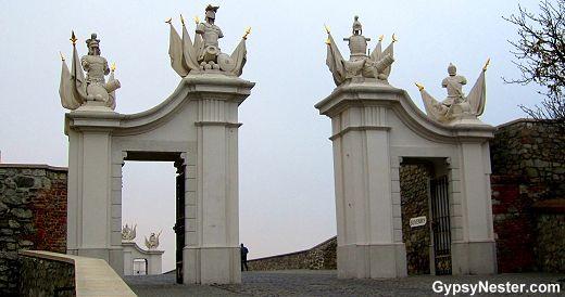 Bratislava Castle Gate, Slovakia See more: http://www.gypsynester.com/christmas-cruise.htm  #slovakia #europe #travel @Viking Cruises