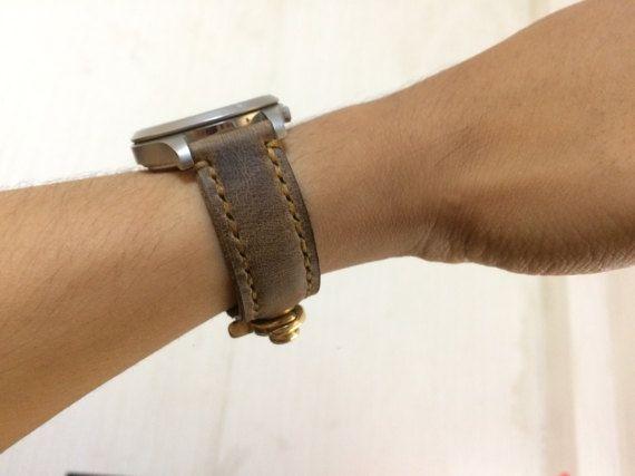 Watch Strap Handmade Leather Strap Vintage Watch by Fansipan