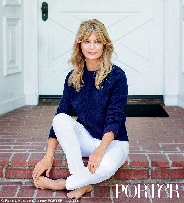 Still got it! Speaking to Porter magazine, Goldie Hawn, 69, declared that marriage is not the magic ingredient to an enduring love, but rather, intention