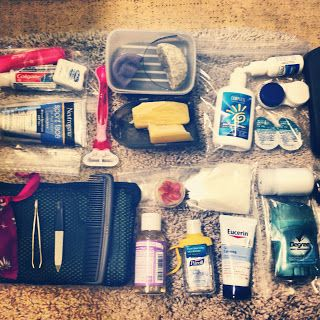 17 Days in Peru - Toiletries.  This is my own plan for toiletries for the a 17-day Peru trip.  There is an explanation of what I'm bringing in the blog post as well as a subset list and pic of what I plan to bring on the Inca Trail (i.e. camping).  This is just one example that might spur on your own ideas.  Feel free to ask questions if I've left anything out!