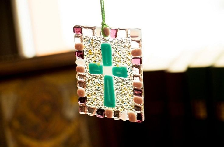Glass Cross, Special Price $7.00, catalog of St Elisabeth Convent. Made to order.  #crucifix #Golgotha #cross #church #icon #orthodox #life #God #Jesus #Christ #faith #love #handmade #catalogofgooddeed #christianity  #glass #souvenir