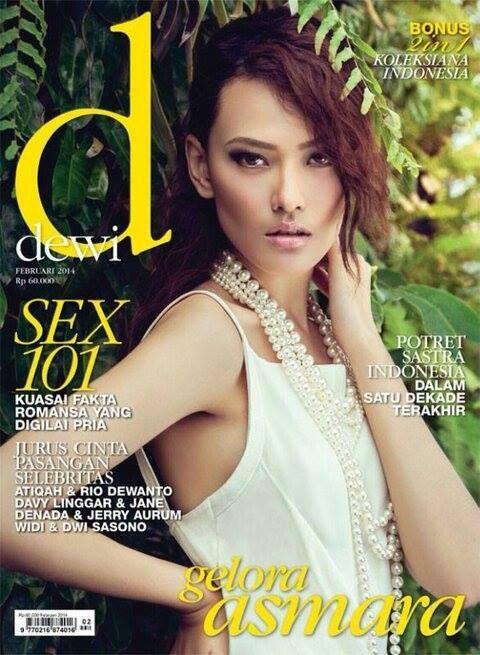 Dara Warganegara - Dewi Magazine Cover [Indonesia] (February 2014)