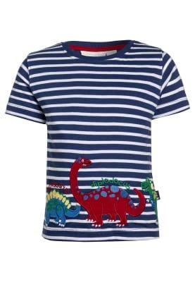 Köp JoJo Maman Bébé DINOS - T-shirt med tryck - indigo/white för 199,00 kr (2017-02-18) fraktfritt på Zalando.se