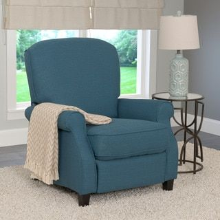 CorLiving Noah Linen Fabric Recliner Armchair - Free Shipping Today - Overstock.com - 19889707 - Mobile