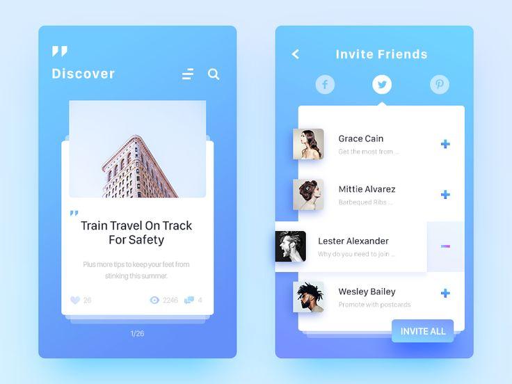 Tour Diary App Concept