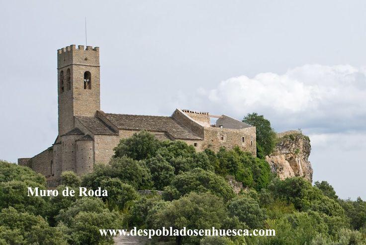 Muro de Roda Huesca Spain.
